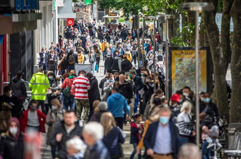 新增確診病例減少 德國調降疫情風險等級