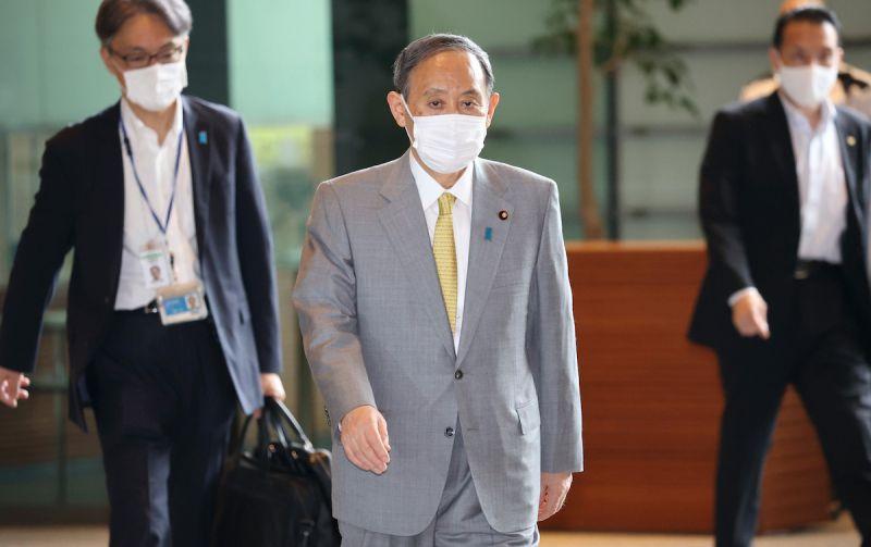 ▲日本首相菅義偉。資料照。(圖/美聯社/達志影像)