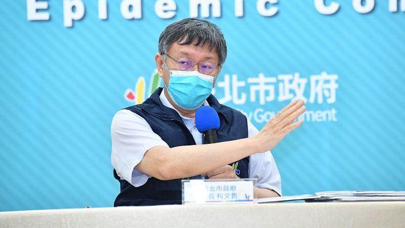 ▲前桃園市議員王浩宇也翻出柯文哲受訪時的「年初預言」,引發議論。(圖/台北市政府提供)