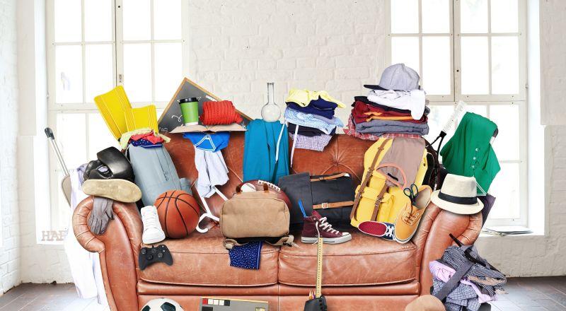 ▲防疫期間可針對居家各區域斷捨離,出關後重現清爽的家。(圖/信義居家提供)