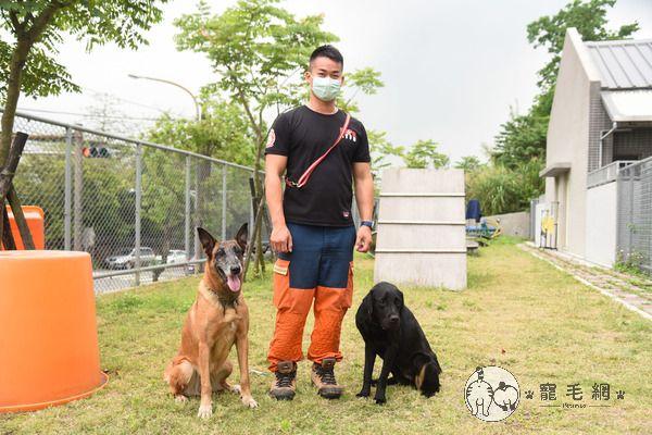 ▲小隊長凌國智表示:「牠們其實就像自己的夥伴、好家人!」。(圖/寵毛網,記者陳明安攝)
