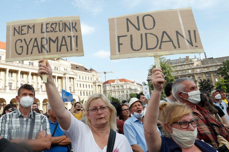 瞄準復旦與鐵路計畫 匈牙利反對派宣布聯手抗中