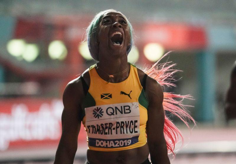 ▲牙買加短跑女將Shelly-Ann Fraser-Pryce。(圖/美聯社/達志影像)
