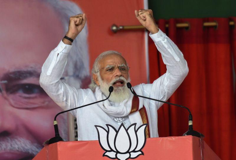 影/滿18歲免費接種新冠疫苗!印度總理:正在研發鼻噴式