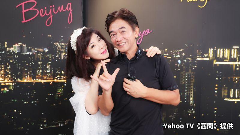 ▲陳文茜(左)要揪吳宗憲搭檔選總統,但被果斷拒絕。(圖/Yahoo