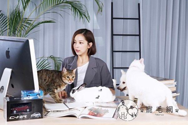 ▲身為台大獸醫系的學生,蔡祥經常在Potcast節目中分享毛孩經,而自家貓咪與狗狗也常常在節目中「獻聲」。(圖/蔡祥提供)