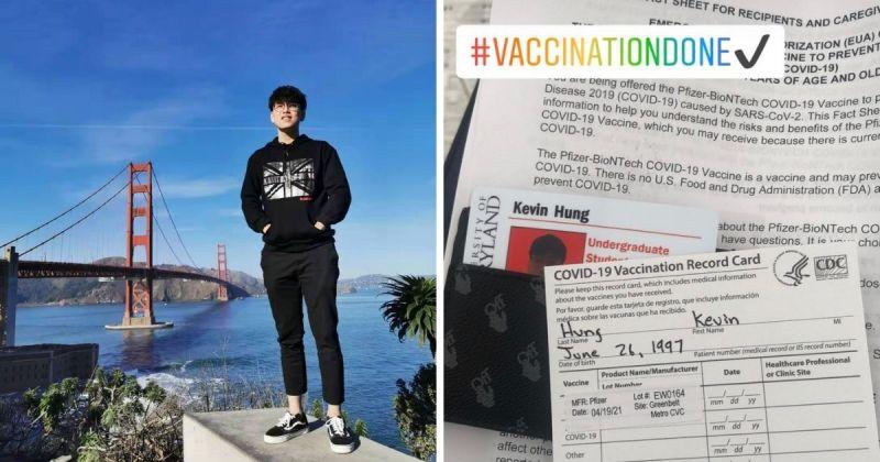 ▲根據洪凱俞所述,要接種疫苗只需要先登入馬里蘭州政府的官方網站報名。(圖/