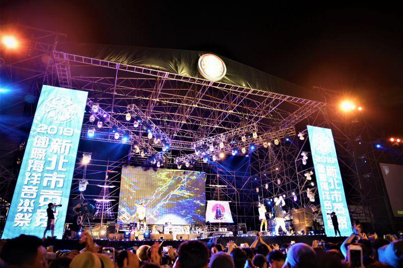 ▲防疫優先的考量下,今年的新北市貢寮海洋音樂祭將停辦。(圖/資料照,新北市政府觀光旅遊局提供)