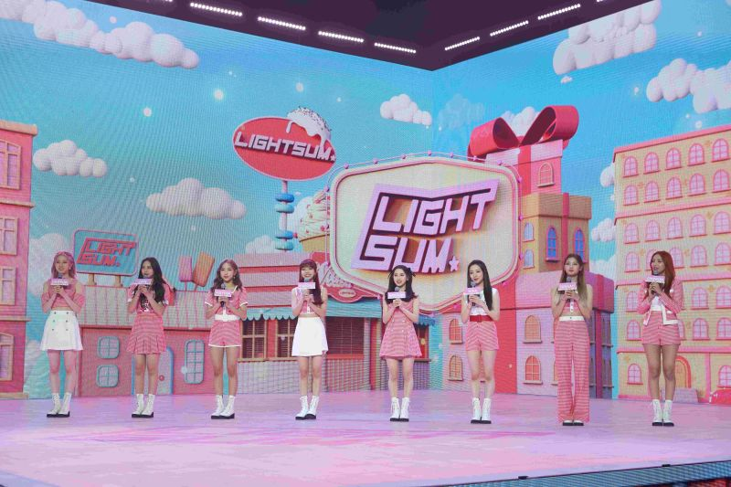 ▲(G)I-DLE師妹團LIGHTSUM正式出道。(圖/Cube Entertainment)