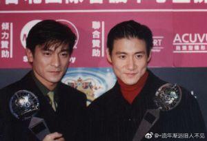 ▲劉德華、張學友曾一起合作演出電影《旺角卡門》。(圖/翻攝微博)
