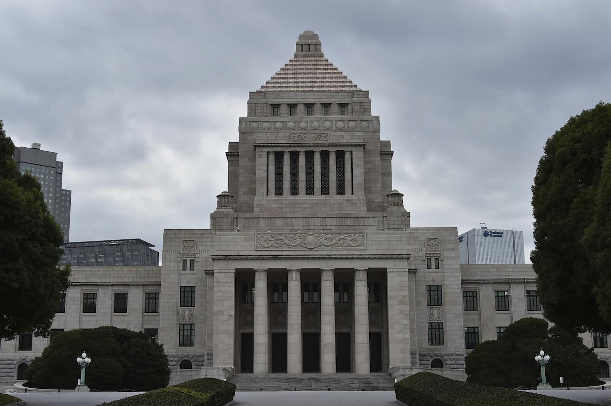 ▲日本眾議院今天趕在任期屆滿前解散,訂31日投開票。圖為日本國會大廈資料照。(圖/美聯社/達志影像)