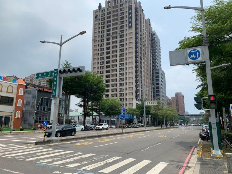 ▲博愛四路近年有新建案推出,帶動沿線商圈氛圍有所改變。(圖/NOWnews資料照片)