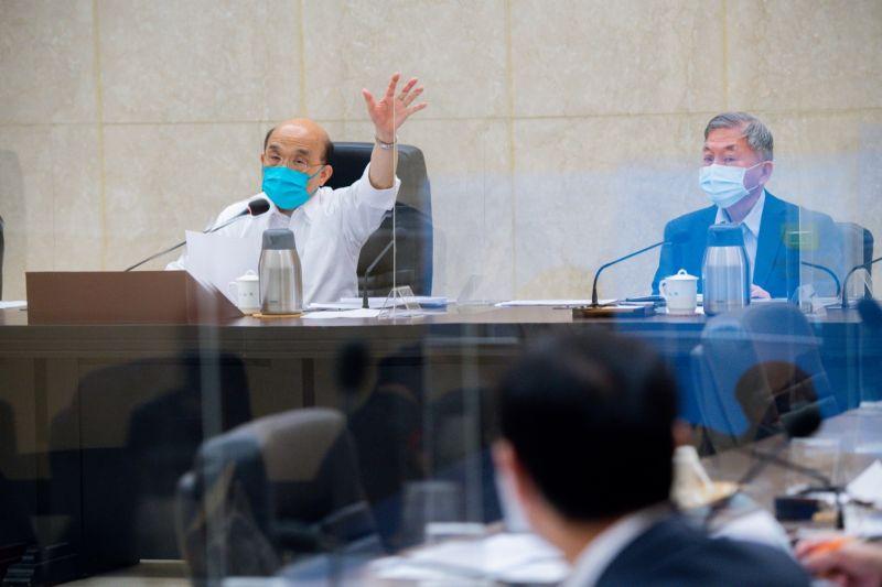嚴防私打疫苗 蘇貞昌要求CDC公開配發與施打情況