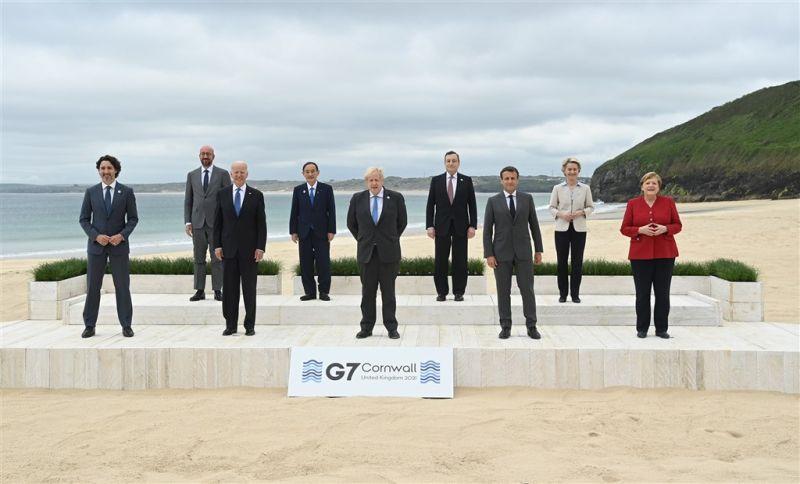 G7峰會公報 傳將承諾1年內捐10億劑疫苗