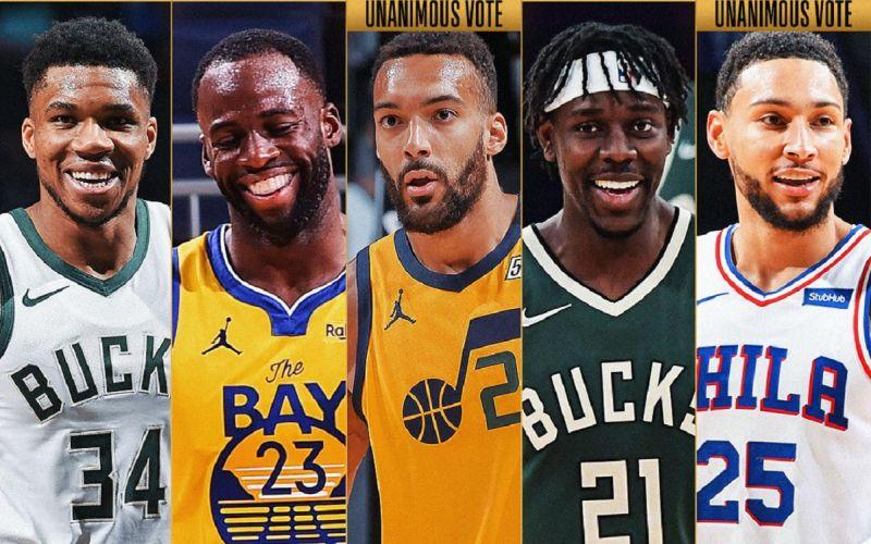 ▲NBA最佳陣容。(圖/取自NBA官方)