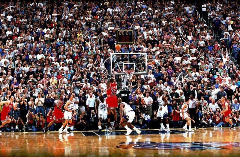 NBA/23年的今天 Jordan投進了他在公牛的最後一球