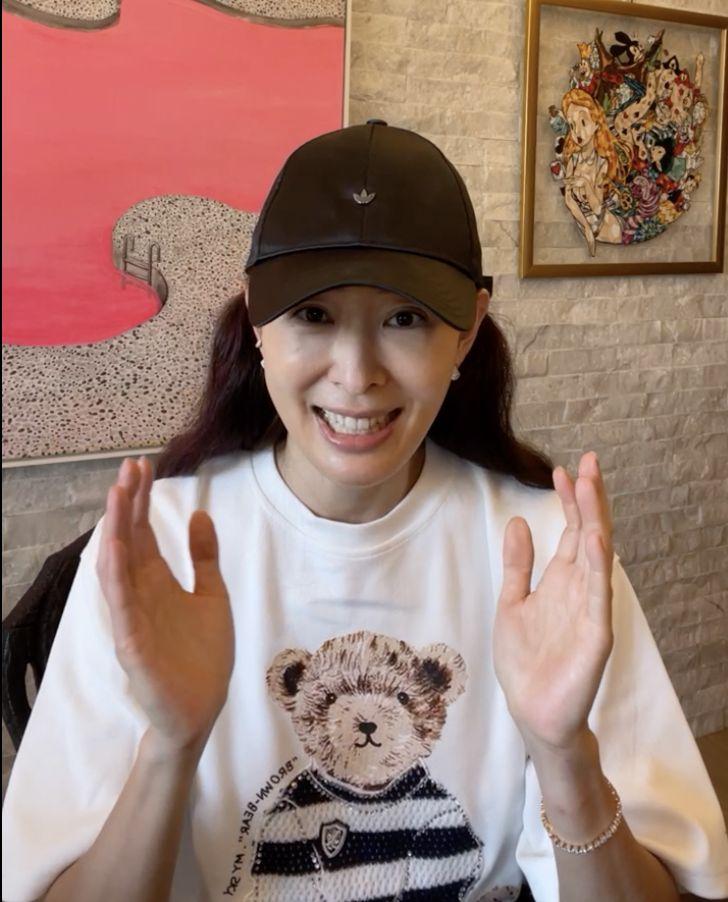 ▲賈永婕直播,解釋募捐初心。(圖/翻攝賈永婕的跑跳人生臉書)