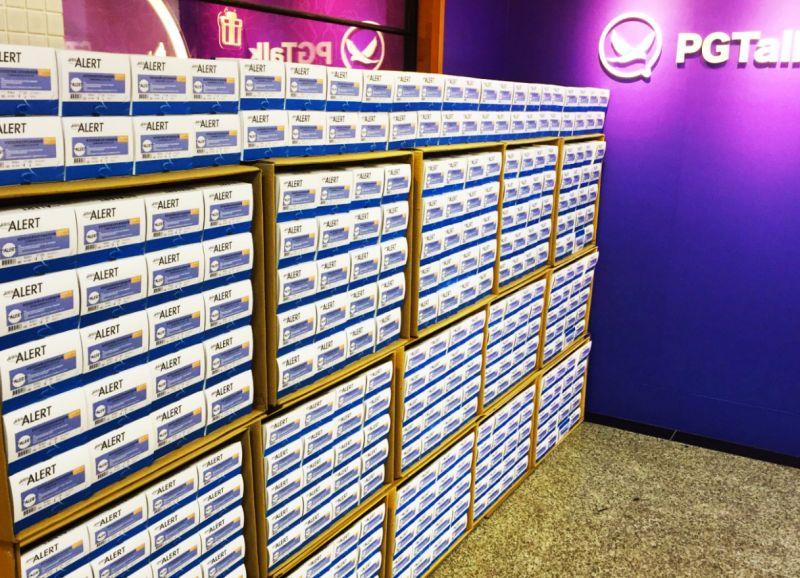 ▲▼憲哥花3000萬購買的快篩劑下週開始送到全台里長辦公室。(圖/PGTalk提供)