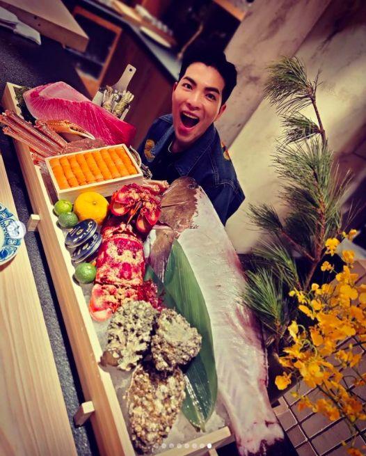 ▲蕭敬騰經營日式料了餐廳。(圖/翻攝蕭敬騰IG)
