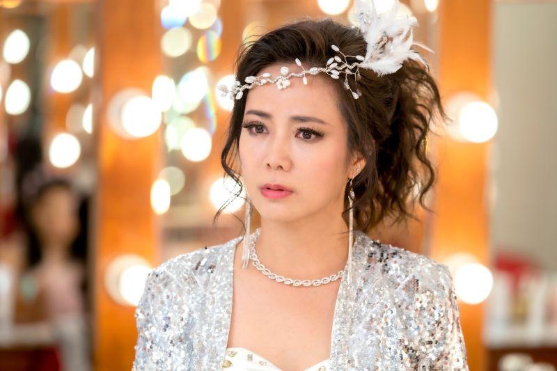 ▲陳仙梅睽違8年接拍《黃金歲月》復出。(圖/民視)