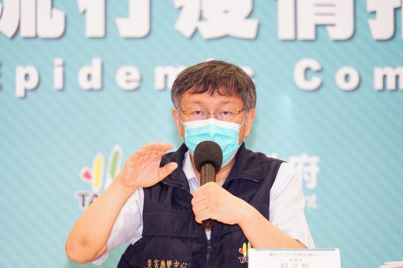 政務官手臂留給國產疫苗?柯:相信民進黨官員會追隨總統