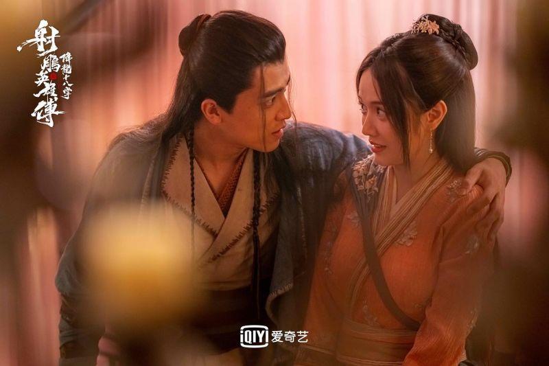 ▲林妍柔(右)在《射雕英雄傳之降龍十八掌》扮相。(圖/林妍柔臉書)