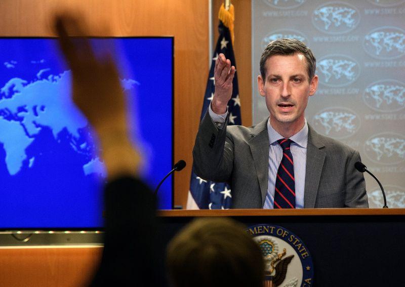 ▲美國國務院發言人普萊斯表示,有關拜習會談的建議,並不代表2國關係有所突破。資料照。(圖/美聯社/達志影像)
