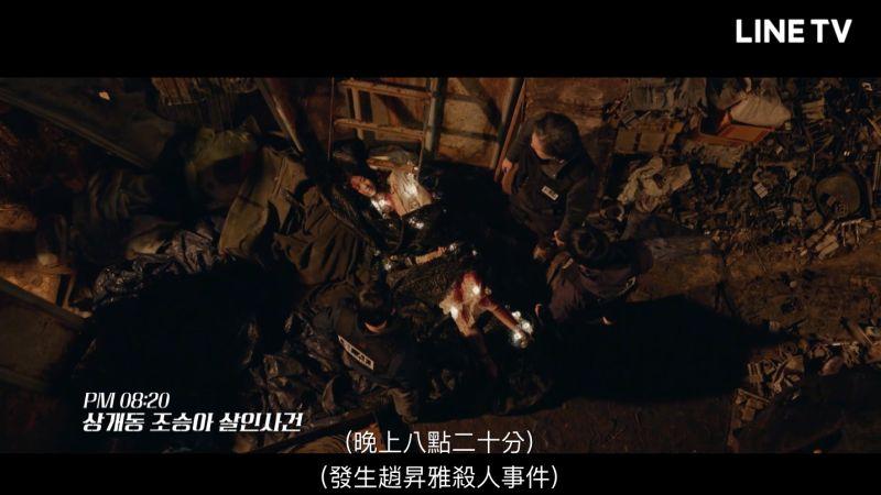 ▲▼劇中,宋承憲(上圖左)的妹妹慘死。(圖/翻攝LINE