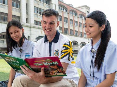▲葳格雙語實驗班成立後,高一至高三校定必修英文課程,將一律採取全英授課。(圖/葳格提供)
