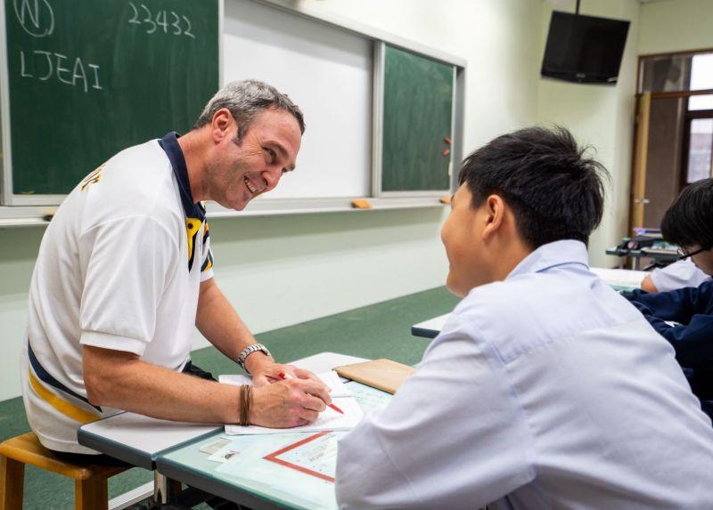 ▲台中葳格際學校高中部獲教育部核定開設雙語實驗班,有助學生雙軌升學。(圖/葳格提供)