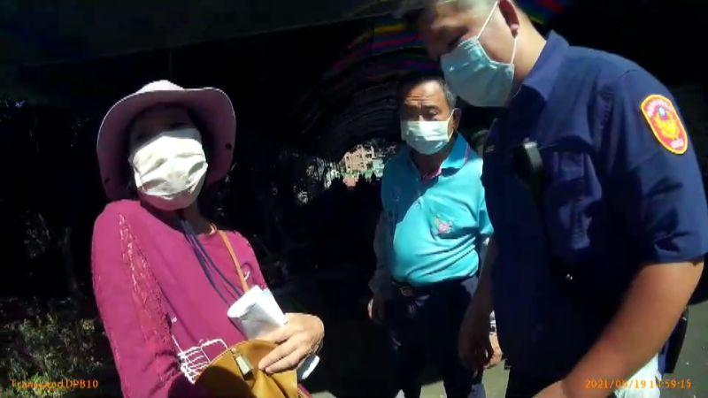 影/楊梅阿嬤請警廣播找兒 「張惠妹打好疫苗了!」