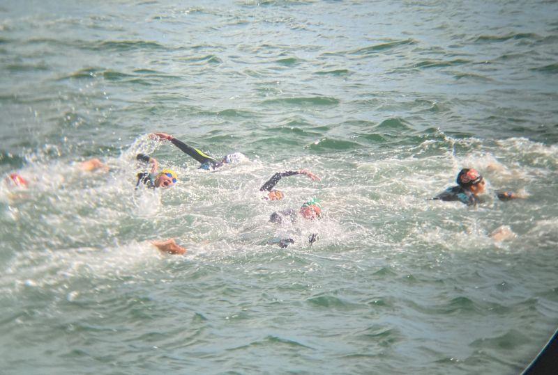 ▲中華隊泳將王怡臻比賽畫面。(圖/中華民國游泳協會提供)