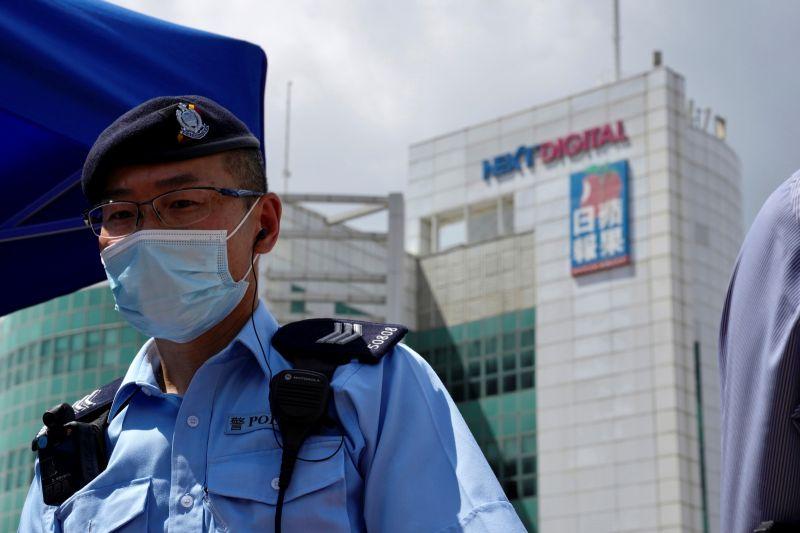 香港蘋果日報預定週五停運 壹傳媒恐被港交所除牌