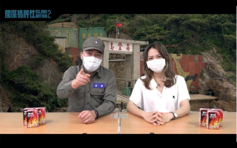 ▲趙正平(左)讚范宸菲演戲節奏精準。(圖/國際橋牌社提供)