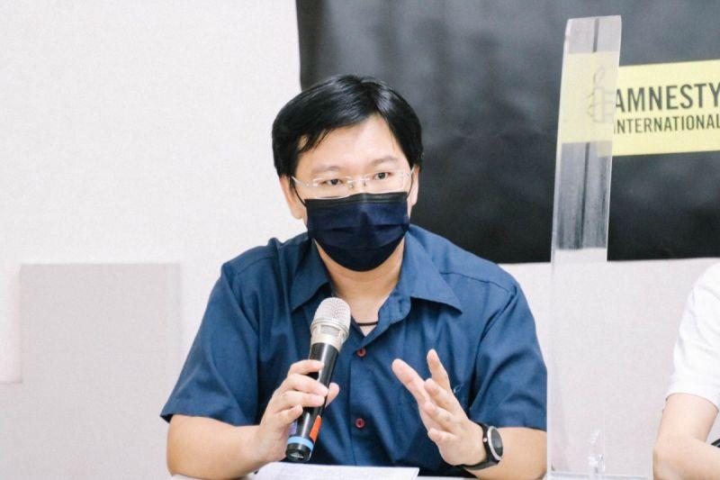 ▲台灣人權促進會會長周宇修。(圖/台權會提供)