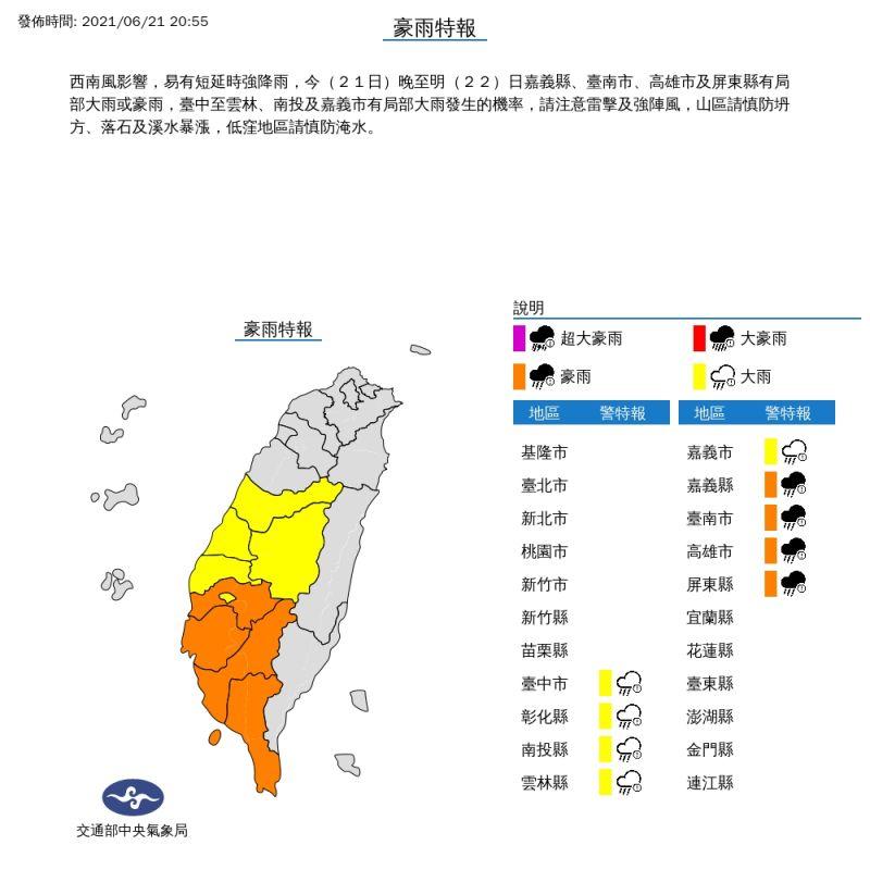 快訊/高雄5行政區 明停止上班上課、疫苗接種