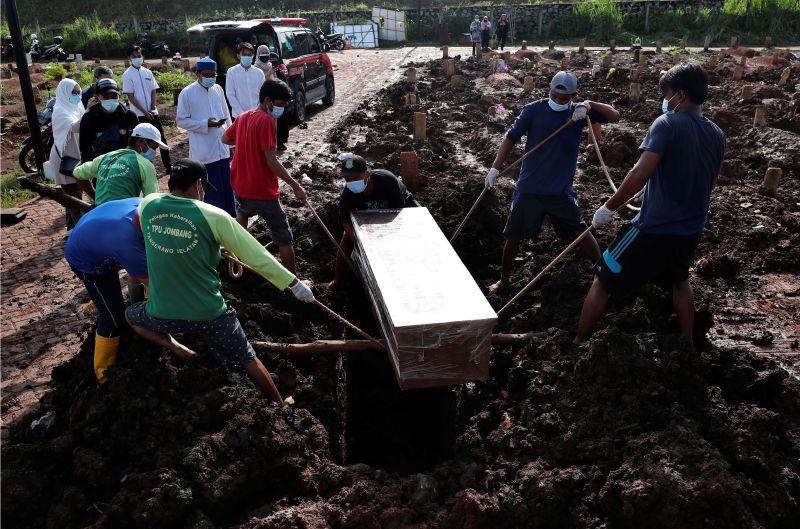 印尼單日確診創新高 累計染疫人數破200萬