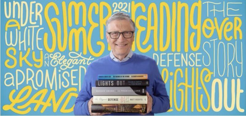 ▲比爾蓋茲延續往年傳統,分享夏日閱讀清單。(圖/翻攝自Gates Notes)