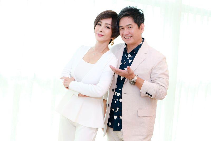 ▲陳美鳳(左)、洪都拉斯的戲劇《黃金歲月》重現秀場風華。(圖/民視)