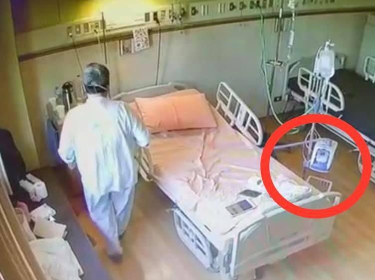 ▲賈永婕公開重症病患在病房內跳舞的畫面。(圖/賈永婕臉書)