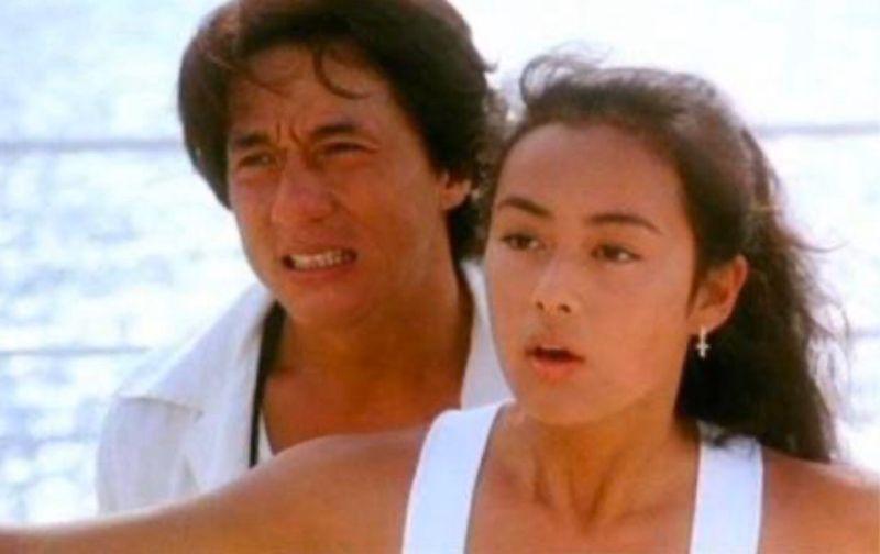 ▲演出成龍電影《城市獵人》的女星後藤久美子(右)有「國民美少女」封號。(圖/翻攝微博)