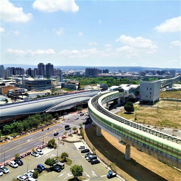 ▲台中綠線捷運通車,沿線18站近幾年房價全面走揚。(圖/建商提供)