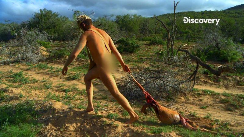 ▲ 挑戰者必須回歸原始生活,在一片荒野中自立生活21天。(圖/Discovery Channel Taiwan 授權)