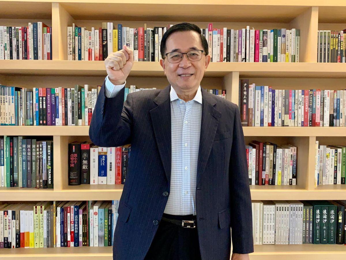 ▲10月12日為前總統陳水扁生日,今(12)日他許下71歲的生日三願。(圖/翻攝自陳水扁臉書)
