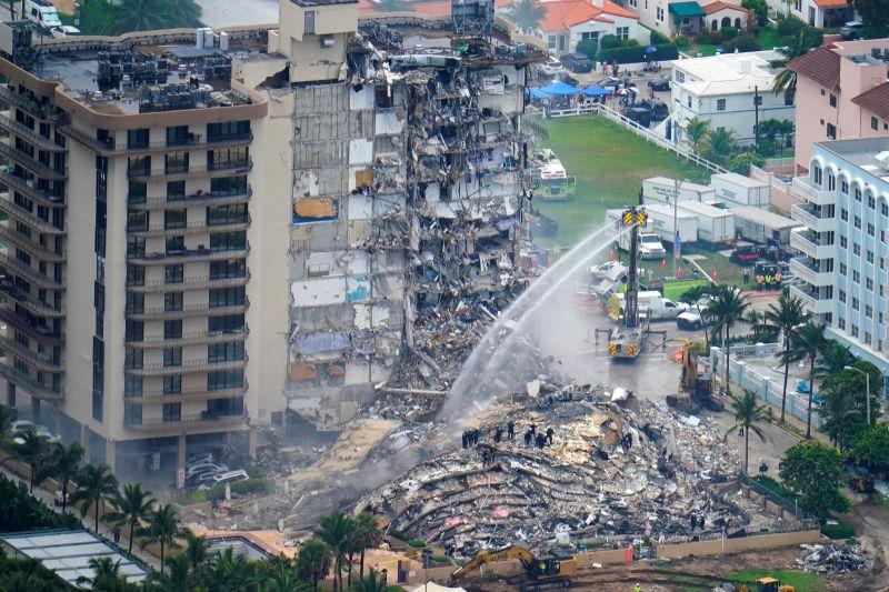 佛州大樓倒塌已4死!159人仍失蹤 研究:90年代就已下沉