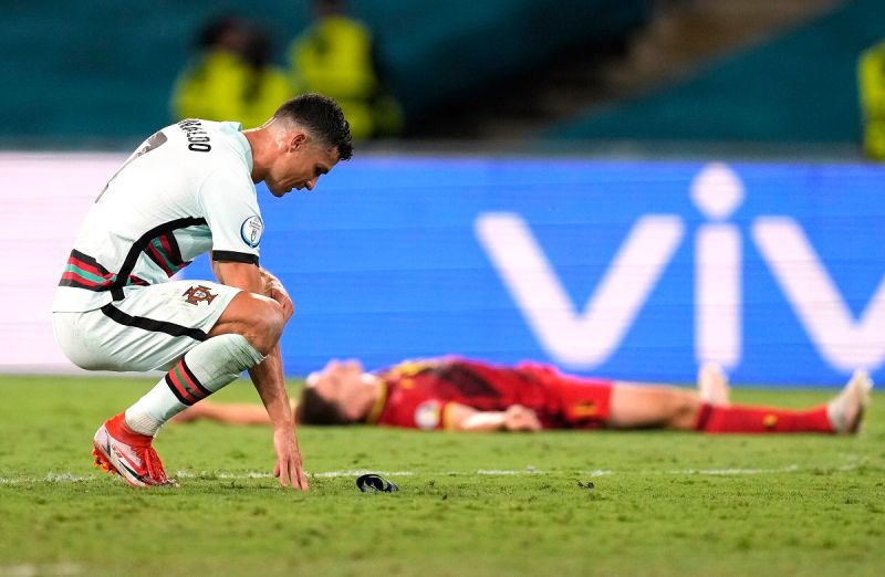 足球/5球1助攻!C羅昂首告別歐洲盃 生涯進14球寫紀錄