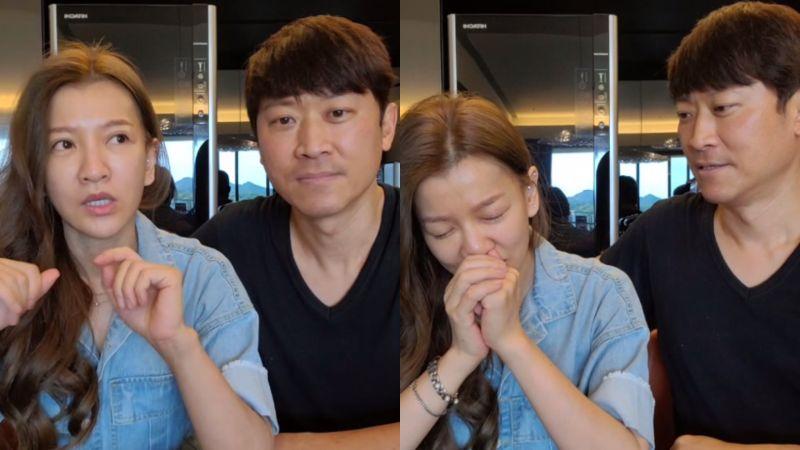 ▲侯昌明(左圖右)、曾雅蘭談好心肝疫苗風波。(圖/曾雅蘭臉書)
