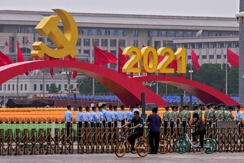 中共百年黨慶 學者:高壓集權統治恐讓中國逐漸走下坡