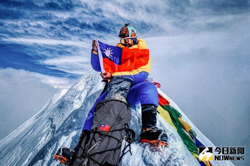 獨/台灣第一人!呂忠翰談攀上安納普納峰 直呼滿滿感動