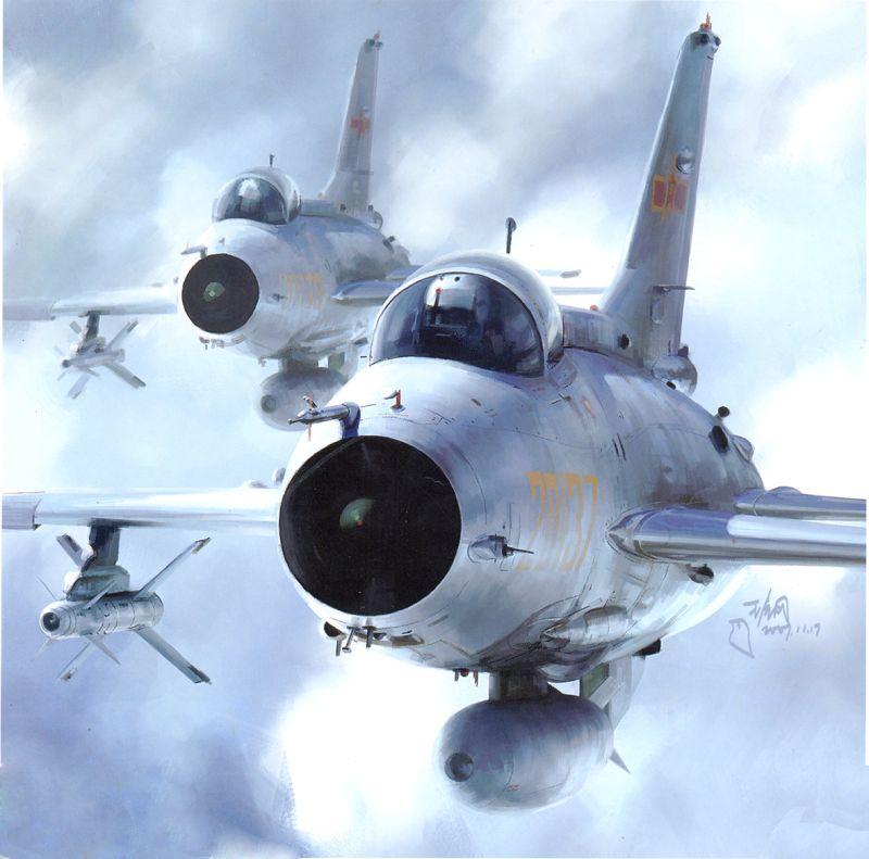 ▲共軍殲7戰機。(圖/成都飛機公司)